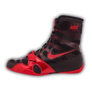 NIKE BLACK & RED BOOTS