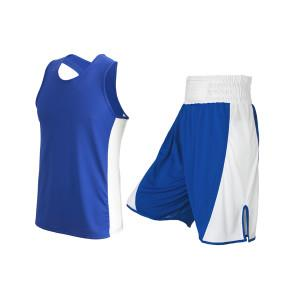 blue boxing kit