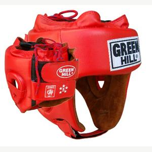 Greenhill COMPETITION HEADGUARD (Red)