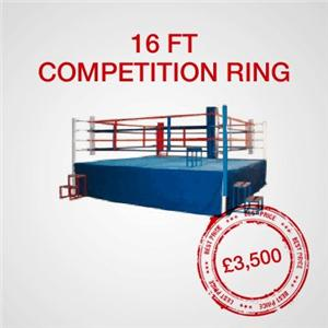 16FT Competition Boxing Ring